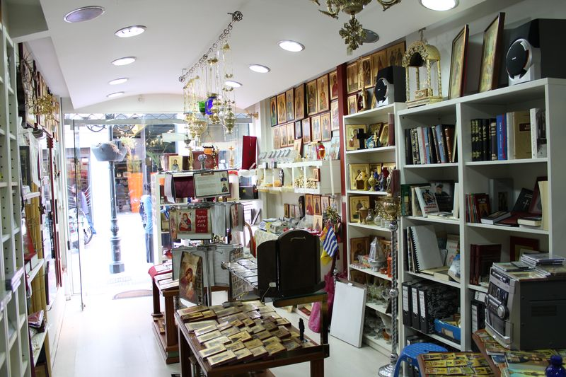 Interior of our department store. Click to enlarge.